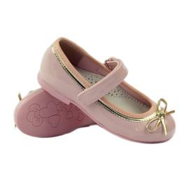American Club Balerinas cipő amerikai íjjal rózsaszín 3
