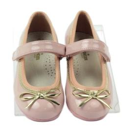 American Club Balerinas cipő amerikai íjjal rózsaszín 4