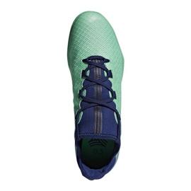 Adidas X Tango 17.3 IN M CP9142 beltéri cipő zöld 1