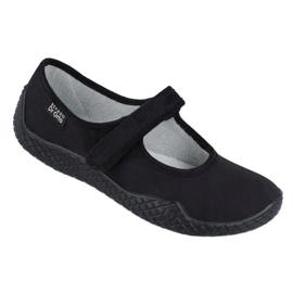 Befado női cipő pu - fiatal 197D002 fekete 1