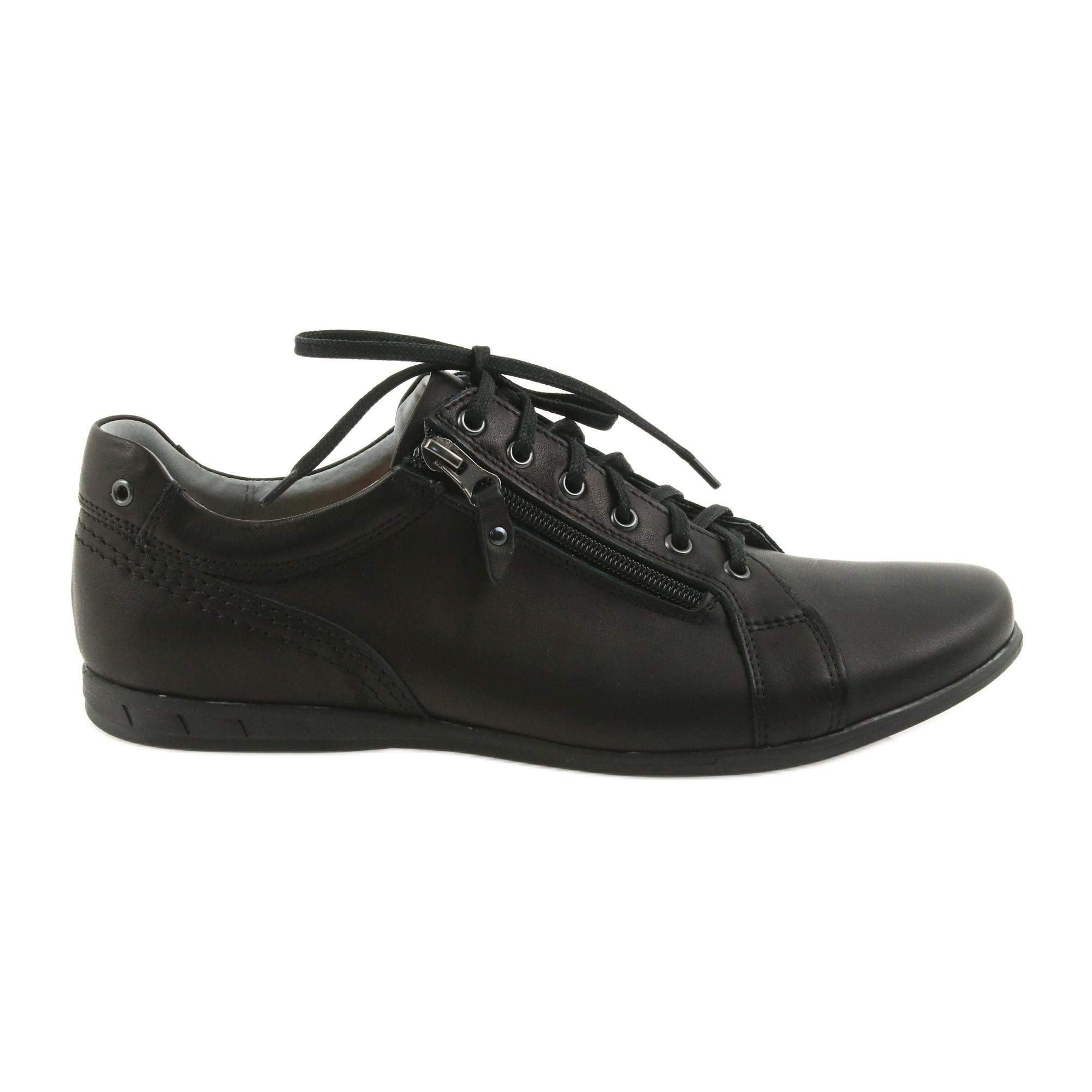 Riko férfi alkalmi cipő 828 fekete ButyModne.pl