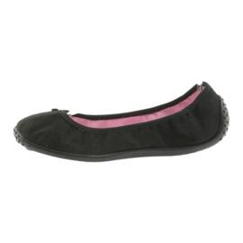 Befado balerina cipő 893Q093 fekete 2