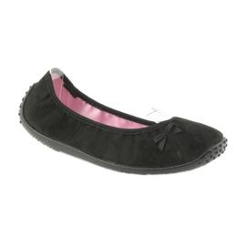 Befado balerina cipő 893Q093 fekete 1