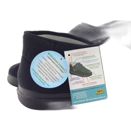 Befado férfi cipő pu 986M003 fekete 6
