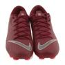 Nike Mercurial Vapor 12 Academy FG M AH7375-606 futballcipő burgundia piros 3
