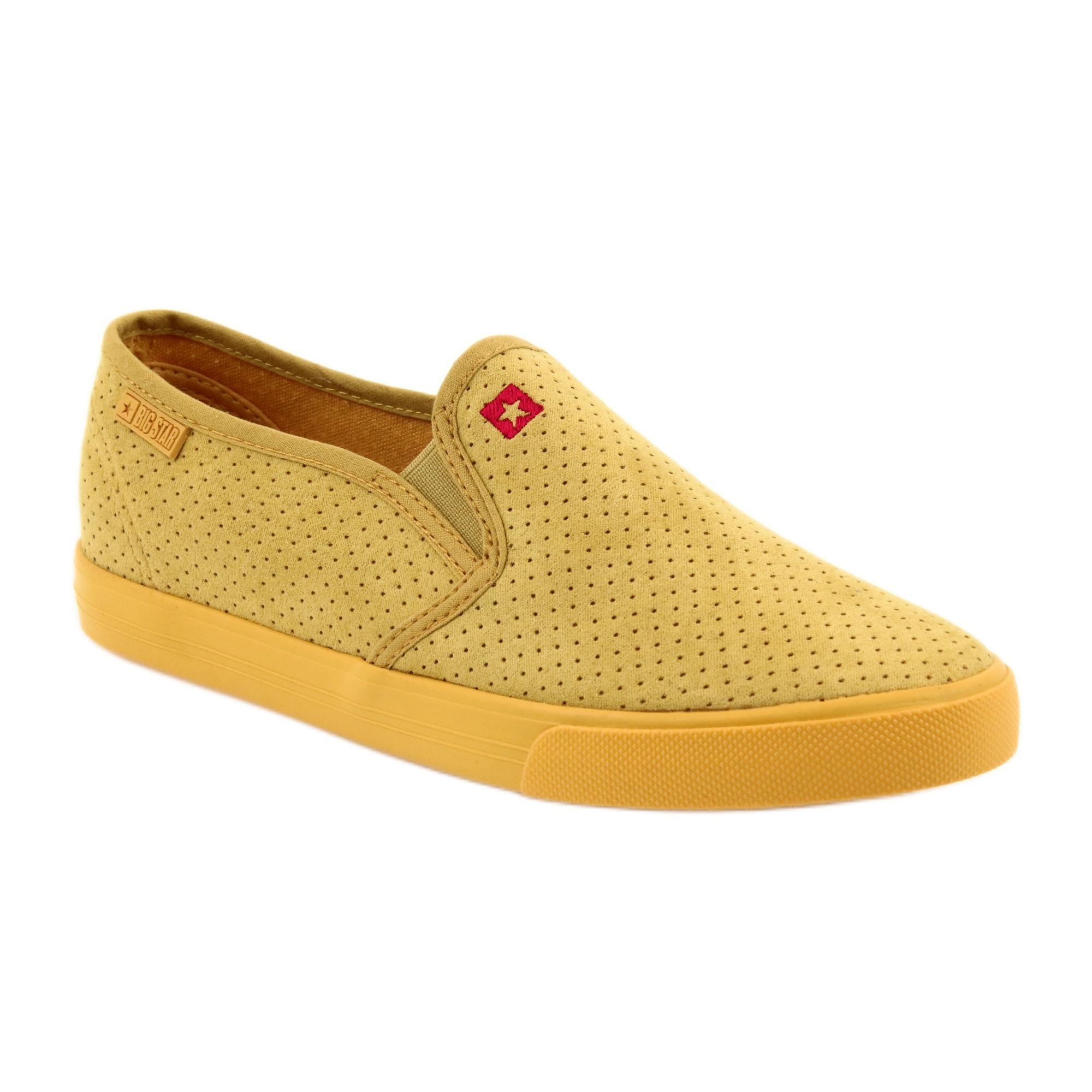 Big Star 274889 női cipők sárga
