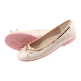 Balerinák íj rózsaszín gyöngyszemmel American Club GC14 / 19 4