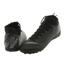 Nike Mercurial SuperflyX 6 Academy TF M AH7370-001 futballcipő fekete fekete 4