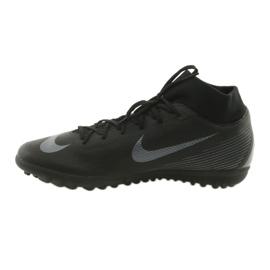 Nike Mercurial SuperflyX 6 Academy TF M AH7370-001 futballcipő fekete fekete 2