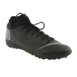Nike Mercurial SuperflyX 6 Academy TF M AH7370-001 futballcipő fekete fekete 1