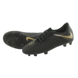 Nike Hypervenom Phantom 3Club FG Jr AJ4146-090 futballcipő fekete 5