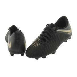 Nike Hypervenom Phantom 3Club FG Jr AJ4146-090 futballcipő fekete 4