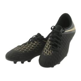 Nike Hypervenom Phantom 3Club FG Jr AJ4146-090 futballcipő fekete 3