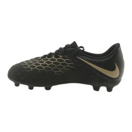 Nike Hypervenom Phantom 3Club FG Jr AJ4146-090 futballcipő fekete 2