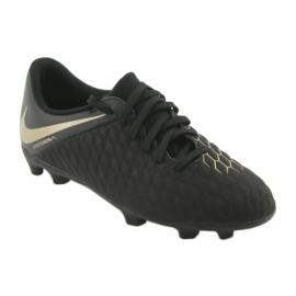 Nike Hypervenom Phantom 3Club FG Jr AJ4146-090 futballcipő fekete 1