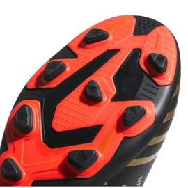 Adidas Nemeziz Messi 17.4 Fg Jr CP9210 futballcipő fekete, arany fekete 2