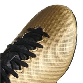 Adidas X Tango 17.4 Tf M CP9146 futballcipő arany arany 2