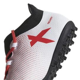 Adidas X Tango 17.3 Tf M CP9136 futballcipő fehér fehér 1