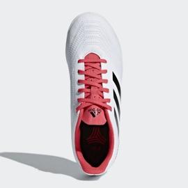 Adidas Predator Tango 18.4. Jr CP9103 beltéri cipő fehér fehér, piros 2