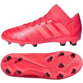 Adidas Nemeziz 17.3 Fg Jr CP9166 futballcipő piros piros 2