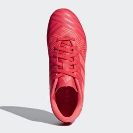 Adidas Nemeziz 17.4 FxG Jr CP9207 futballcipő piros piros 2