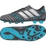Adidas Nemeziz 17.4 FxG Junior CP9211 cipő sokszínű szürke / ezüst, többszínű 2