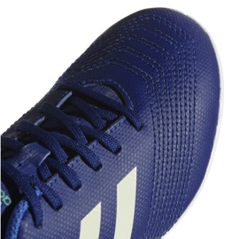 Adidas Predator Tango 18.4. Jr CP9104 beltéri cipő kék kék 2