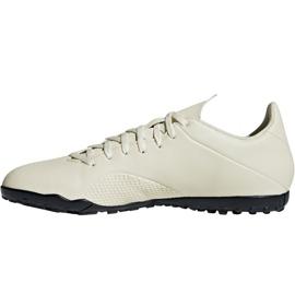 Adidas X Tango 18.4 Tf M DB2478 futballcipő fehér fehér 2