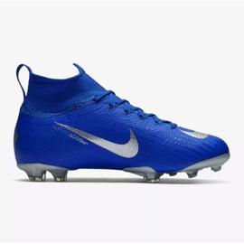 Nike Mercurial Superfly 6 Elite Fg Jr AH7340-400 futballcipő kék kék 1