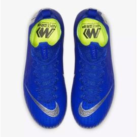 Nike Mercurial Superfly 6 Elite Fg Jr AH7340-400 futballcipő kék kék 2