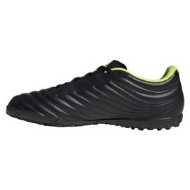 Adidas Copa 19.4 Tf M BB8097 futballcipő fekete fekete 1