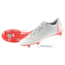 Nike Mercurial Vapor 12 Akadémia szürke szürke 5