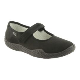 Befado női cipő pu - fiatal 197D002 fekete 2