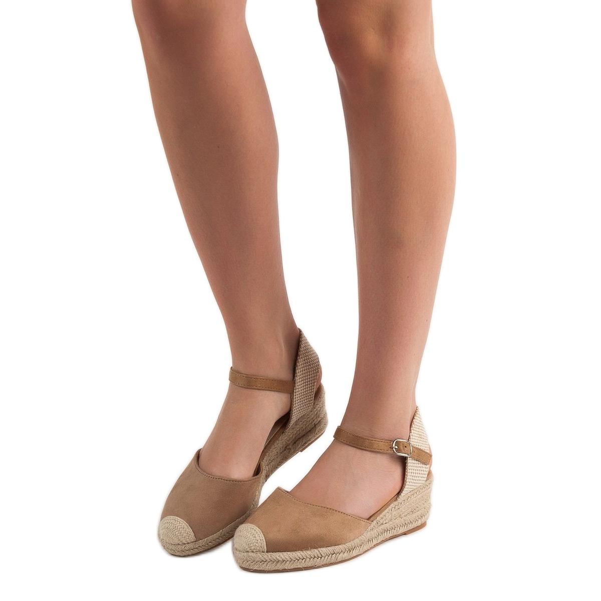 Big Star Espadrilles női barna – Cipő Divat