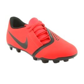 Nike Phantom Venom Club Fg Jr AO0396-600 foci cipő piros 1