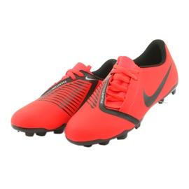 Nike Phantom Venom Club Fg Jr AO0396-600 foci cipő piros 3