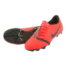 Nike Phantom Venom Club Fg Jr AO0396-600 foci cipő piros 5