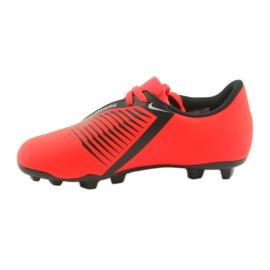 Nike Phantom Venom Club Fg Jr AO0396-600 foci cipő piros 2