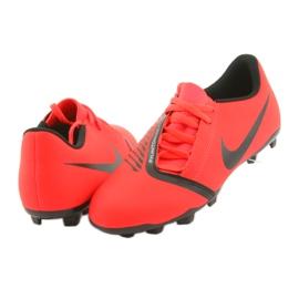 Nike Phantom Venom Club Fg Jr AO0396-600 foci cipő piros 4