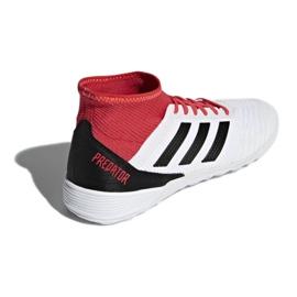 Adidas Predator Tango 18.3. Az M CP9929 beltéri cipőben fehér, piros fehér 2