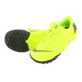 Nike Mercurial VaporX 12 Academy Tf Jr AH7353-701 futballcipő sárga 5