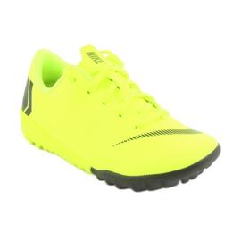 Nike Mercurial VaporX 12 Academy Tf Jr AH7353-701 futballcipő sárga 1