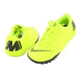 Nike Mercurial VaporX 12 Academy Tf Jr AH7353-701 futballcipő sárga 4