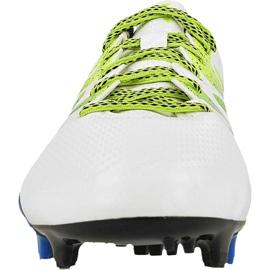 Adidas X 15.3 FG / AG M S74635 futballcipő fehér fehér 2