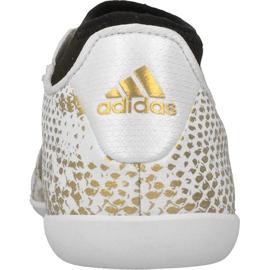 Adidas Ace 16.3 Primemesh A Jr AQ3427 beltéri cipőben fehér fehér 2