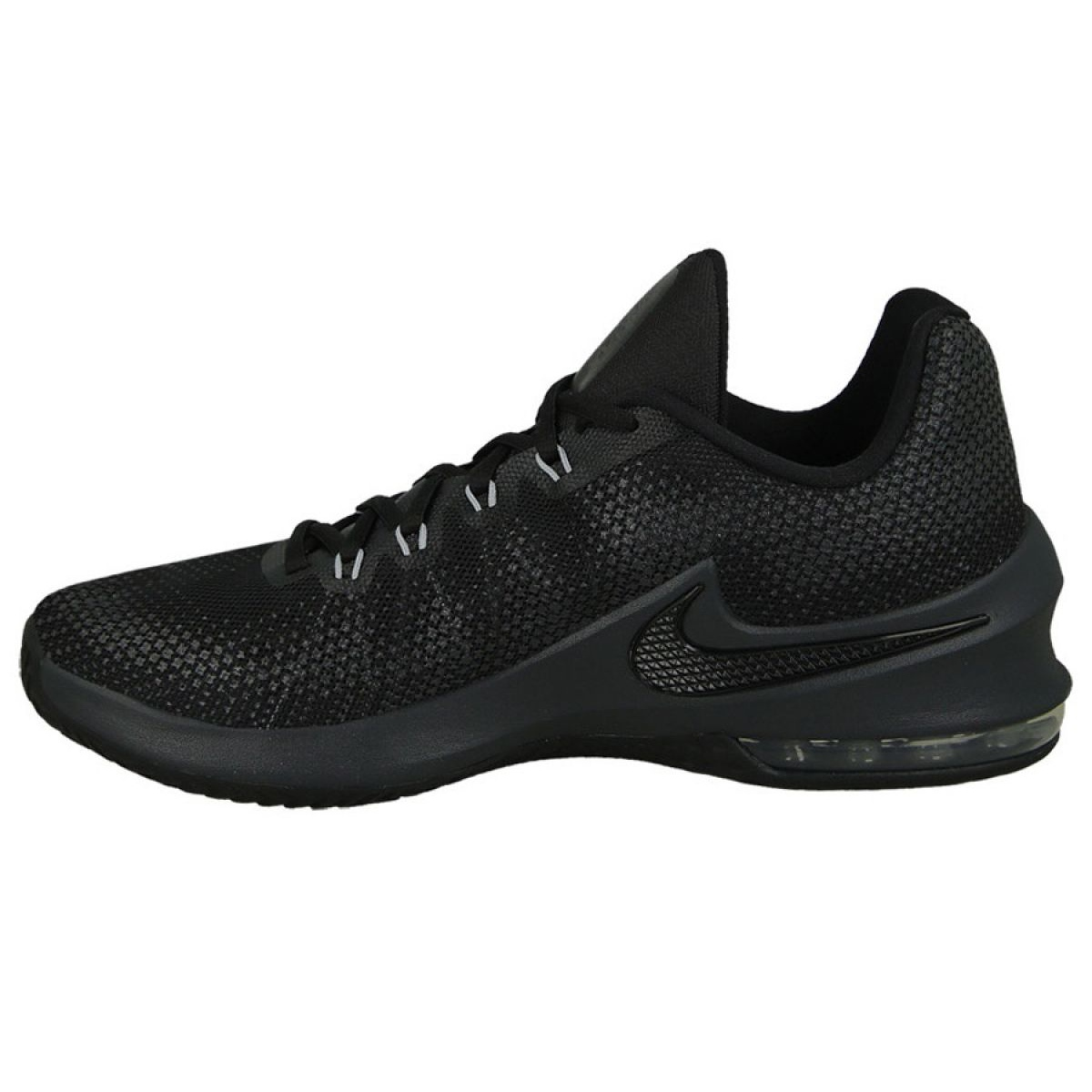 Kosárlabda cipő Nike Air Max Infuriate Low M 852457 001 fekete fekete