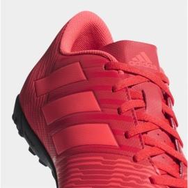 Adidas Nemeziz Tango 17.4 Tf M CP9060 futballcipő piros sokszínű 3