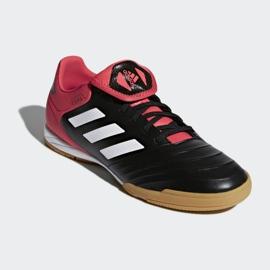 Adidas Copa Tango 18.3 az M CP9017 beltéri cipőben fekete fekete, piros 3