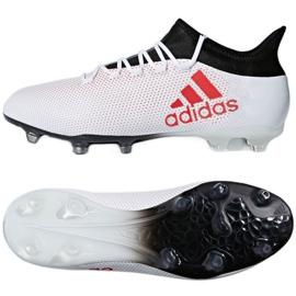 Foci cipő adidas X 17.2 Fg M CP9187 fehér, piros sokszínű 2