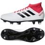 Adidas Predator 18.3 Sg CP9305 futballcipő fehér fehér, piros 2